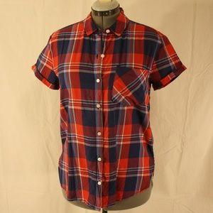 SO Brand Plaid Shirt